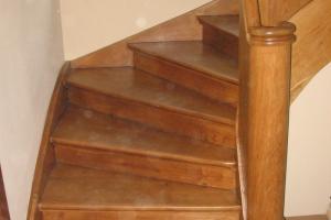 Wyszlifowanie oraz naprawa schodów | Sołacz